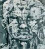 Animus und Anima 2005Acryl und Kohle auf Leinwand100 x 90 cm