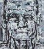 Der Schwellenhüter 2005Acryl auf Leinwand180 x 160 cm