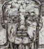Kopf o.T. 2005Acryl auf Leinwand180 x 160 cm