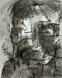Kopf o. T. 2005Tusche auf Papier29 x 21 cm