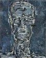Kopf o.T. 2005Mischtechnik28 x 22 cm