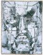 Großer Kopf 2003Mischtechnik auf Leinwand136 x 112 cm