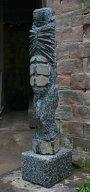 Kokon 2006Basalt, Granit31 x 38 x 154 cm