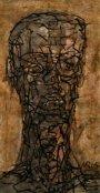 Kopf o.T. 2005Mischtechnik32 x 17 cm